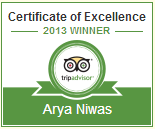 Awards - Arya Hotels Jaipur