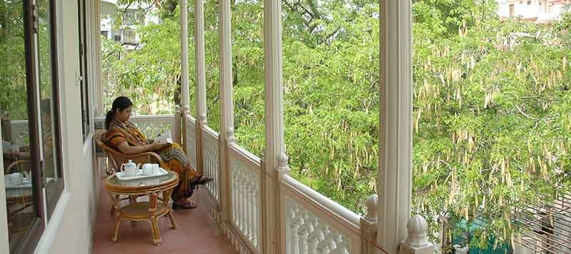 Om Niwas Luxury Suite Balcony 1