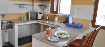 Om Niwas Studio Suite - Kitchen